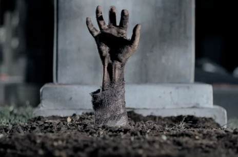 Hand from dead
